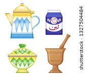 old traditional heritage icons... | Shutterstock .eps vector #1327504484