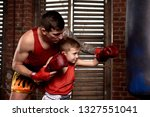 Child Strikes Hand Over Boxing...
