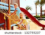 happy children move out to... | Shutterstock . vector #132755237