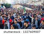 algiers  algeria   march 01...   Shutterstock . vector #1327609007