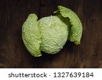 close up of head of fresh ... | Shutterstock . vector #1327639184