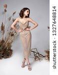 pretty fashion beauty model... | Shutterstock . vector #1327648814
