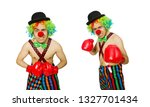 Clown With Boxing Gloves...
