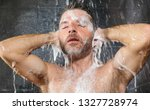 natural face portrait of young...   Shutterstock . vector #1327728974