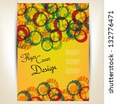 flyer or cover brochure design | Shutterstock .eps vector #132776471