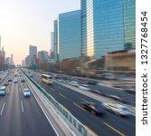 beijing high rise highway   Shutterstock . vector #1327768454