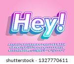 modern soft gradient font... | Shutterstock .eps vector #1327770611