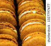 french colorful macarons... | Shutterstock . vector #1327797677