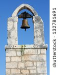 Bell On Old Stone Church In...