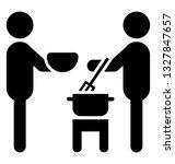 cooking vector element ... | Shutterstock .eps vector #1327847657