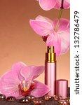 women's perfume in beautiful... | Shutterstock . vector #132786479