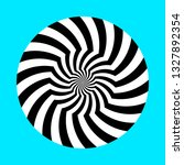 twirling spin circle. circular... | Shutterstock .eps vector #1327892354
