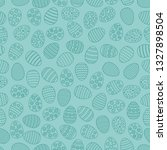 easter seamless background with ... | Shutterstock .eps vector #1327898504