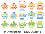 old traditional heritage icons... | Shutterstock .eps vector #1327903841