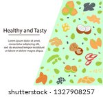 modern hand drawn banner with... | Shutterstock .eps vector #1327908257