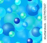 seamless pattern. set of blue... | Shutterstock .eps vector #1327957037