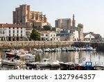 castro urdiales  spain... | Shutterstock . vector #1327964357