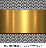 metallic background silver... | Shutterstock .eps vector #1327994927