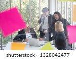 business people meeting team ... | Shutterstock . vector #1328042477