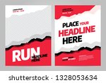 template design for sport event ... | Shutterstock .eps vector #1328053634