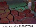cobbles. stone road pattern.   Shutterstock . vector #1328057384