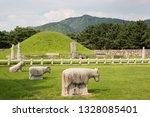 RoyalTombofKingSuro is a grave of the Gaya era in Gimhae-si, Korea.