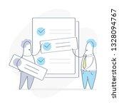 task ranking  business people... | Shutterstock .eps vector #1328094767