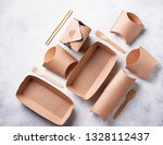 eco friendly fast food...   Shutterstock . vector #1328112437