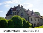 road trip in may royal house...   Shutterstock . vector #1328132111