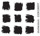 brush stroke set isolated on... | Shutterstock .eps vector #1328138597