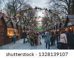 lviv  ukraine   april 5  2018 ...   Shutterstock . vector #1328139107