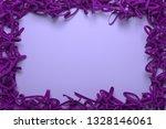 virtual paper frame  string... | Shutterstock . vector #1328146061