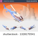 Isometric View Police...