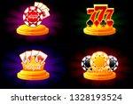 casino and poker icons. symbols ...