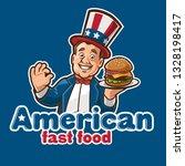 fast food mascot logo | Shutterstock .eps vector #1328198417