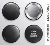 vector blank black glossy... | Shutterstock .eps vector #1328272877