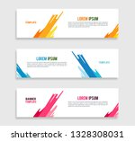 simple banner design abstract   ... | Shutterstock .eps vector #1328308031