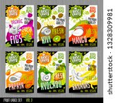 food labels stickers set... | Shutterstock .eps vector #1328309981