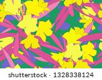 flat colorful minimal sweet... | Shutterstock .eps vector #1328338124