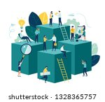 vector illustration  virtual... | Shutterstock .eps vector #1328365757