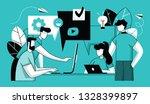 vector illustration  flat... | Shutterstock .eps vector #1328399897