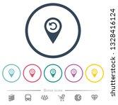 undo gps map location flat... | Shutterstock .eps vector #1328416124