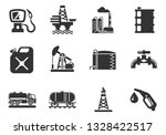 oil and petrol industry objects ... | Shutterstock .eps vector #1328422517