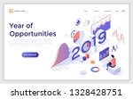 landing page with 2019 number... | Shutterstock .eps vector #1328428751