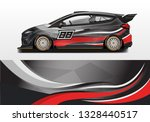 livery decal car vector  ... | Shutterstock .eps vector #1328440517