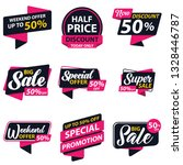 label promotion sale sticker... | Shutterstock .eps vector #1328446787