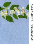 romantic floral backgorund | Shutterstock . vector #1328495447