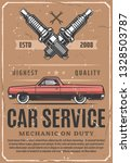 car service and vehicle repair... | Shutterstock .eps vector #1328503787