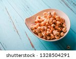 a bunch of popcorn | Shutterstock . vector #1328504291
