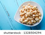 a bunch of popcorn | Shutterstock . vector #1328504294